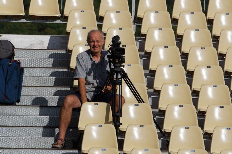 Louis Lejeannou cameraman à l'AVQR