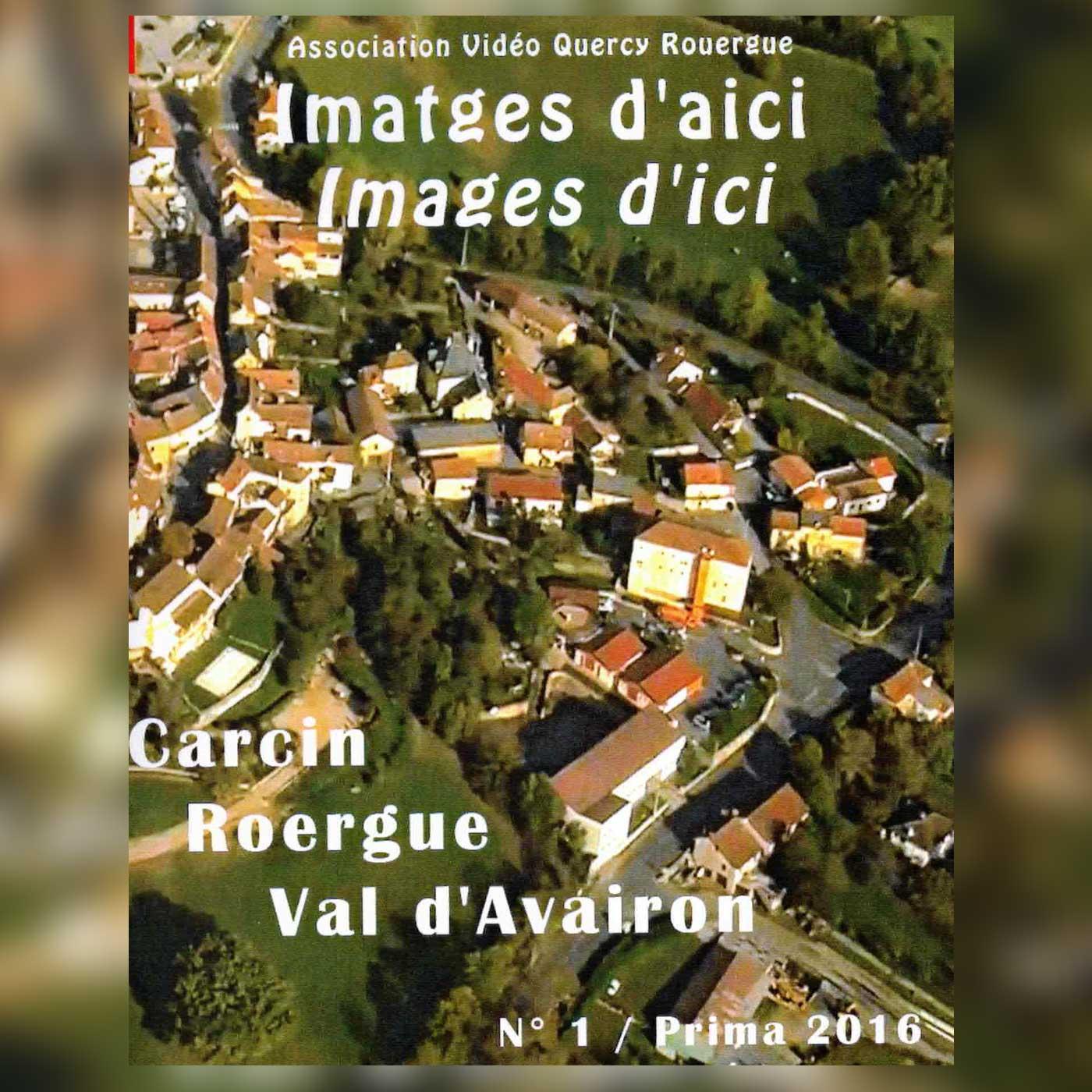 affichette de présentation du dvd Imatges d'aici - Images d'ici N°1