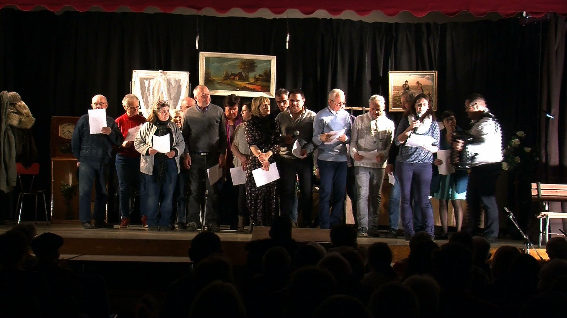 troupe de théâtre JEan de la Valette le 7 mars 2020