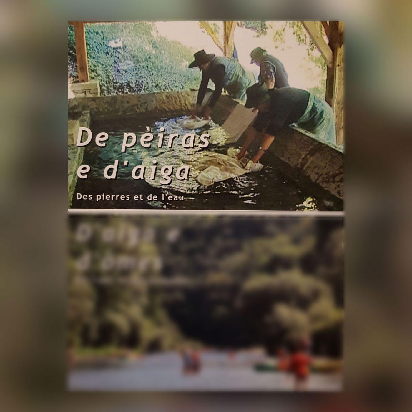 """couverture du double dvd """"des pierres et de l'eau"""" et"""" de l'eau et des hommes"""""""