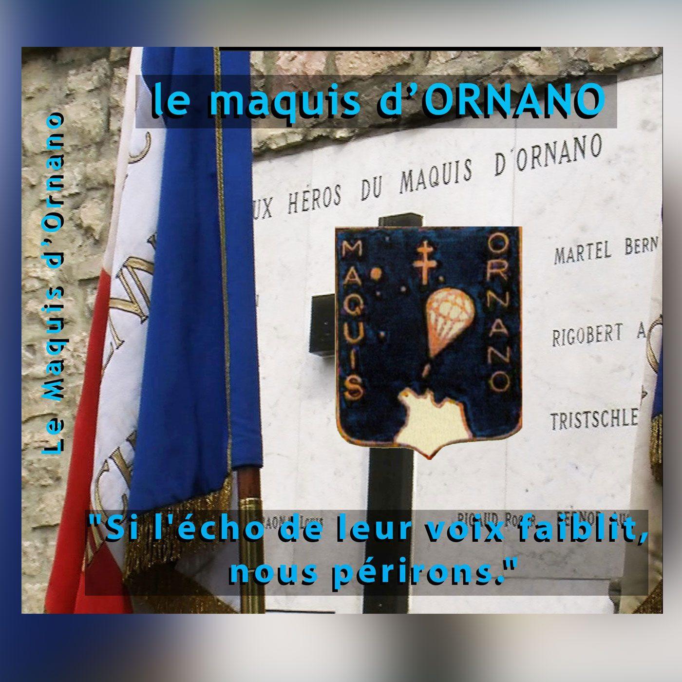 """extrait couverture dvd """"le maquis d'Ornano"""""""